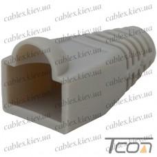 Чехол для штекера 8р8с серый (Тип2), Tcom