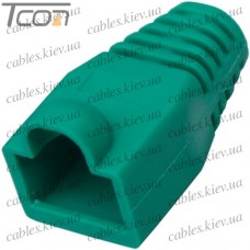 Чехол для штекера 8p8c, зелёный