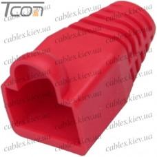 Чехол для штекера 8p8c, красный
