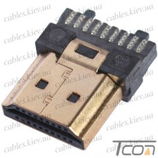 Штекер HDMI, монтажный, Tcom