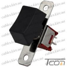 Тумблер с клавишей SRLS-202-A1 (ON-ON) 6-и контактный, 1,5A, 250VAC, Tcom