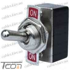 "Тумблер KN3-2 (ON-ON) ""Tcom"", 4-х контактный, 2A, 250VAC"