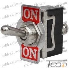 Тумблер KN3(С)-102A (ON-ON) 3-х контактный, 10А, 250VAC, Tcom