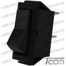 Переключатель ASW-09-101 ON-OFF 2-х контактный, 12V, 20А, чёрный, Tcom