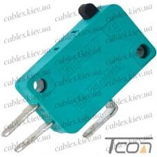 Микропереключатель MSW-01 ON-(ON) 3-х контактный, 10A, 125/250VAC, Tcom