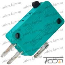 "Микропереключатель MSW-01 ON-(ON) ""Tcom"", 3-х контактный, 5A, 125/250VAC"