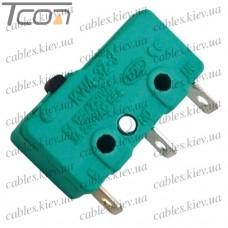 Микропереключатель MSW-11 ON-(ON) 3-х контактный, 5A, 125/250VAC, Tcom