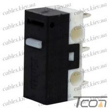 Микропереключатель MSW-21 3-х контактный, 1A, 125/250VAC, Tcom
