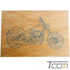 """Дощечка для выжигания """"Мотоцикл"""", Tcom"""