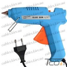 Пистолет клеящий ZD-7А под клей 11мм, 60W, в блистере, Zhongdi