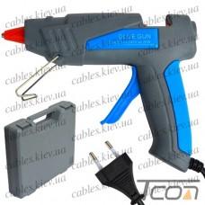"""Пистолет клеящий ZD-6CK """"Zhongdi"""", под клей 11мм, 25W, с клеем (6шт.), в боксе"""