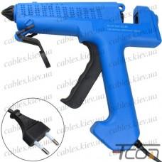 Пистолет клеевой  ZD-8B с кнопкой, под клей 11мм, 40W (Max150W), в блистере
