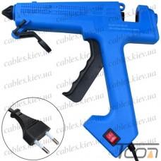 Пистолет клеевой ZD-8C с кнопкой, под клей 11мм, 60W (Max280W), в блистере