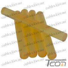 Клей прозрачный диам.- 7 мм, упаковка 5 шт.х70мм, Tcom