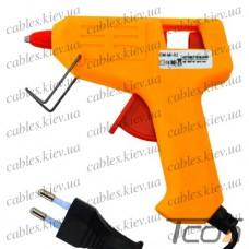 Клеящий пистолет под клей 7мм, 25W, жёлтый, Tcom