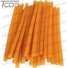 Термоклей (Тайвань) диам.-11мм, длина 254мм, цвет дерева (1кг), EXtools