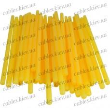 """Термоклей """"Tcom"""", тонкий диам.-7мм, длина - 200мм, жёлто-матовый (1кг)"""