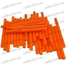 """Термоклей """"Tcom"""", тонкий диам.-7мм, длина - 100мм, оранжевый (1кг)"""