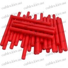 """Термоклей """"Tcom"""", тонкий диам.-7мм, длина - 100мм, красный (1кг)"""