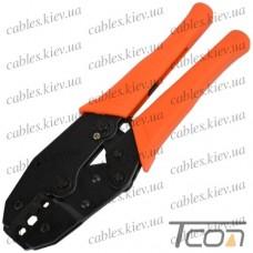 """Инструмент обжимной (HT-301C) """"Tcom"""", для коаксиального кабеля RG-58; 59; 6"""