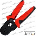 Инструмент (HSC8.6-4) для опрессовки трубчатых наконечников 0,08-6мм, Tcom