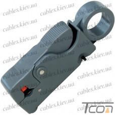 Инструмент (НТ-332) для зачистки коаксиального кабеля RG-58;59;6;3C2V, Tcom