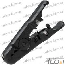 Стриппер Hanlong HT-S501A для зачистки кабеля витой пары и кабелей диам. 3,2-9 мм