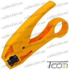 Инструмент для зачистки коаксиального кабеля RG-59,6,7,11 (HT-351), Hanlong