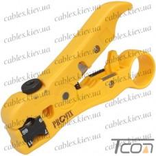 Инструмент (HY-369) для зачистки коаксиального кабеля RG-59, Tcom