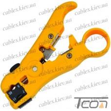Инструмент для зачистки коаксиального кабеля RG-59,6,7,11 (HT-352), Hanlong