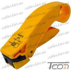 Инструмент для зачистки коаксиального кабеля RG-59; 6 (HT-322X) , Hanlong