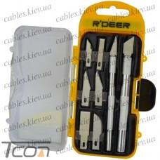 Набор ножей для резьбы по дереву (8шт.) (RT-M108), R'Deer