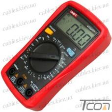 Цифровой мультиметр UT-33C+ (+ термопара), UNI-T