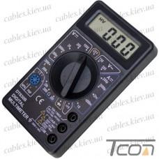 Цифровой мультиметр DT830D, Tcom-Digital