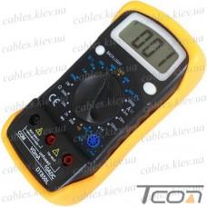 Цифровой мультиметр DT850L с подсветкой, Tcom-Digital