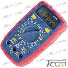 Цифровой мультиметр DT33A с подсветкой + термопара, Tcom-Digital