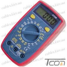 Цифровой мультиметр DT33B с подсветкой, Tcom-Digital