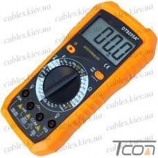 Цифровой мультиметр DT9205A+, Tcom-Digital