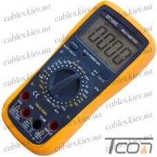 Цифровой мультиметр DT151С интеллектуальный (с термопарой), Tcom-Digital