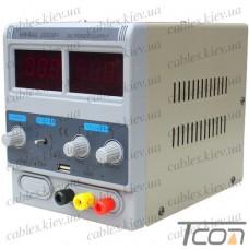 Лабораторный блок питания YIHUA 1502D+ USB, 15В, 2А
