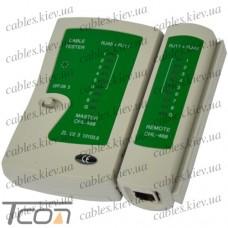 Кабельный тестер витой пары (NS-488), Tcom