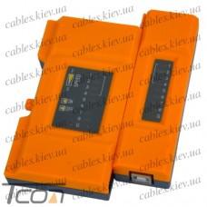 Кабельный тестер витой пары + USB (TL-648), Tcom