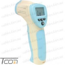 Пирометр инфракрасный HT880D, измерение температуры тела от 32°C до 42.5°C