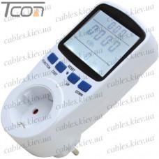 Измеритель мощности (розетка) EC-5, бытовой