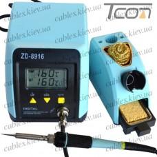 Паяльная станция цифровая ZD-8916, 60W, 160-480°C, Zhongdi