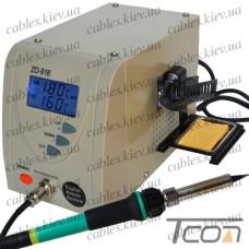Паяльная станция цифровая ZD-916, 60W, 160-480C, Zhongdi