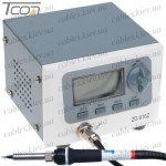 Паяльная станция для бессвинцовой пайки ZD-916Z, 60W, 160-480°C, Zhongdi