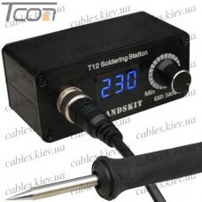 Микропаяльная станция T12 c жалом с нагревателем, 72W, 200-450°C, HandsKit