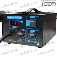 Термовоздушная паяльная станция YIHUA 850AD, с дисплеем, 600W, 100-500°C