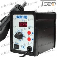 Термовоздушная паяльная станция с дисплеем HandsKit 858D